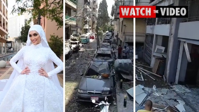 Beirut bride caught up in photo shoot from hell