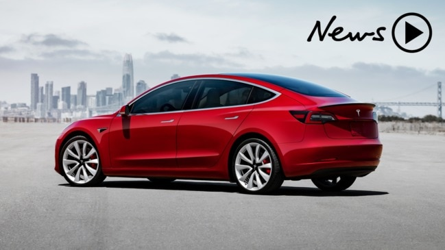 Tesla Model 3 arrives in Australia