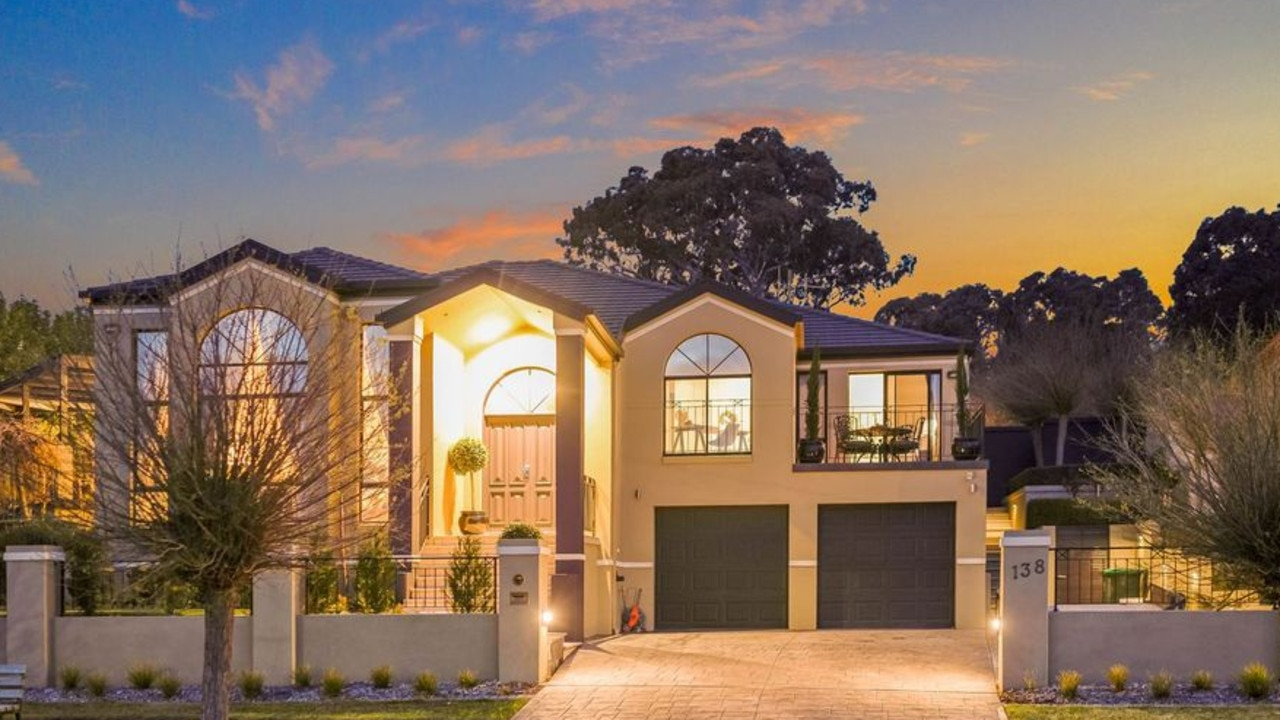 This grand Canberra residence is the only home going under the hammer in the ACT on October 19. Picture: Supplied