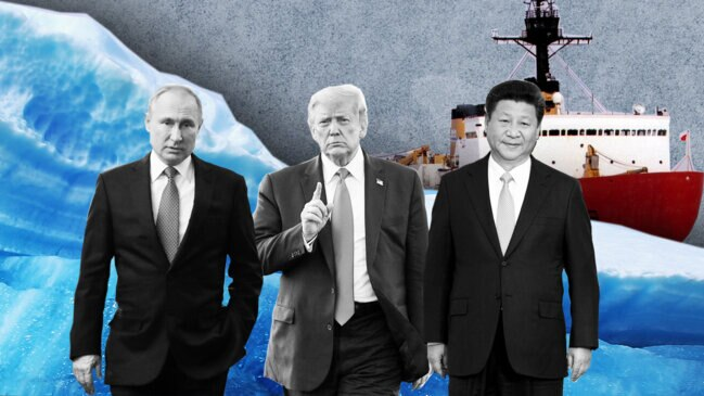 High-Stakes Arctic Race Heats Up for U.S., Russia and China