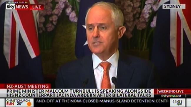 Turnbull says US arrangement is priority for refugee deal