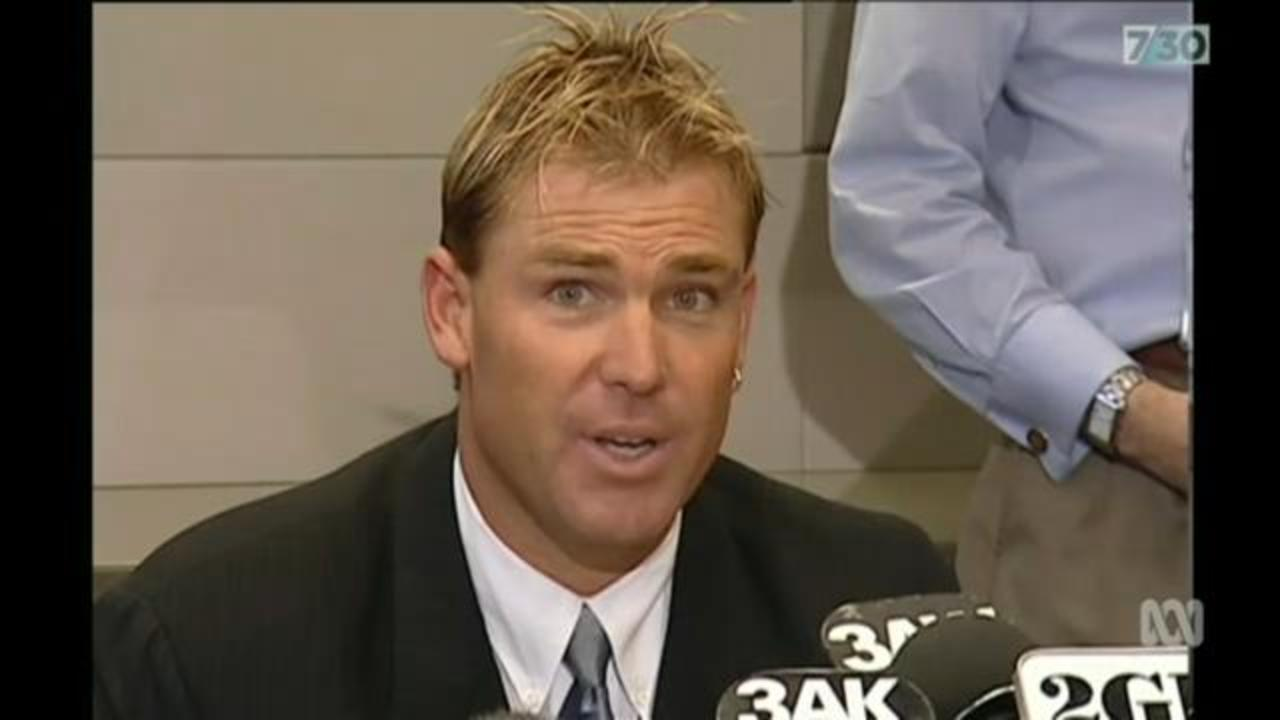 Shane Warne's lowest moments