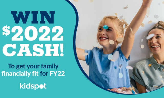 Win $2022 cash and get your family financially fit!