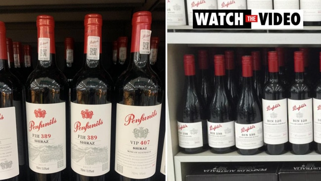 Cheap Penfolds wine knockoffs sold in China amid trade war