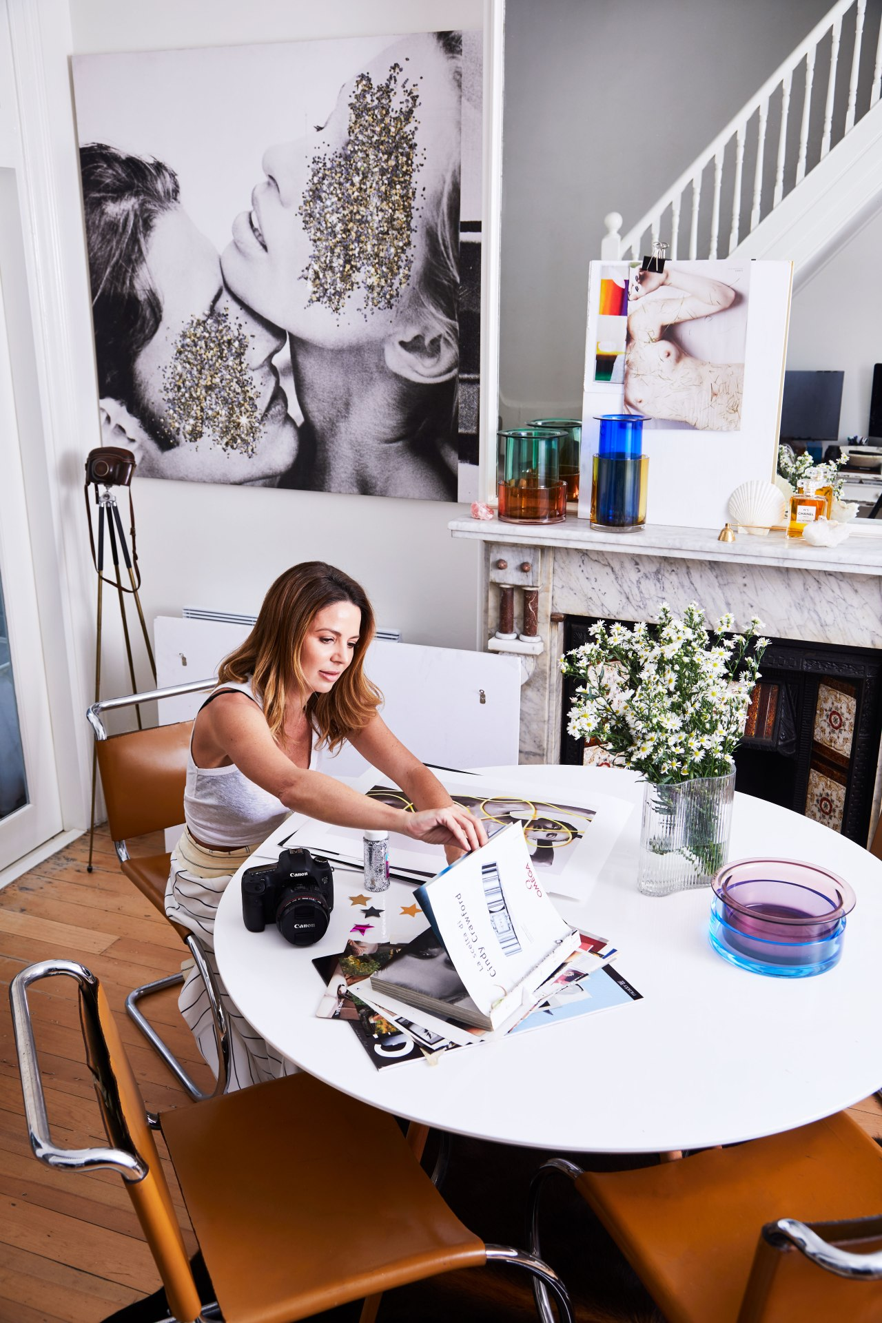 Hour tour: artist Dina Broadhurst's light-filled Sydney terrace
