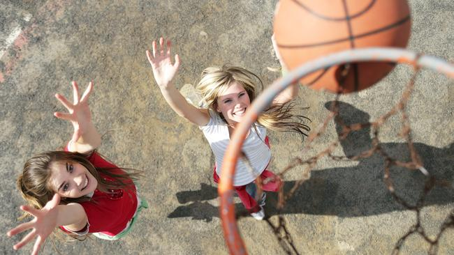 Basketball and netball are great for toning your legs.