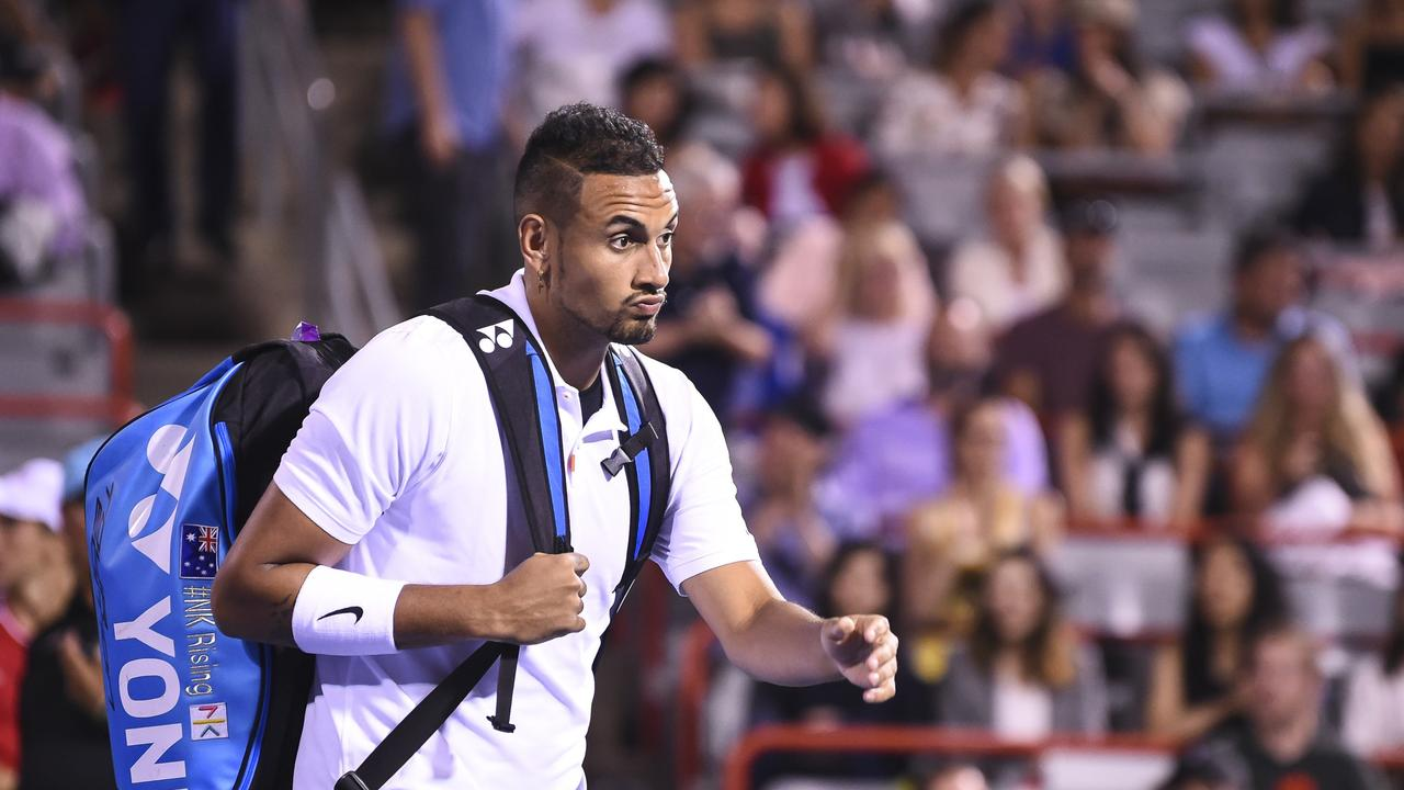 Tennis throws the book at Nick Kyrgios over 'disgusting' outburst at Cincinnati Masters