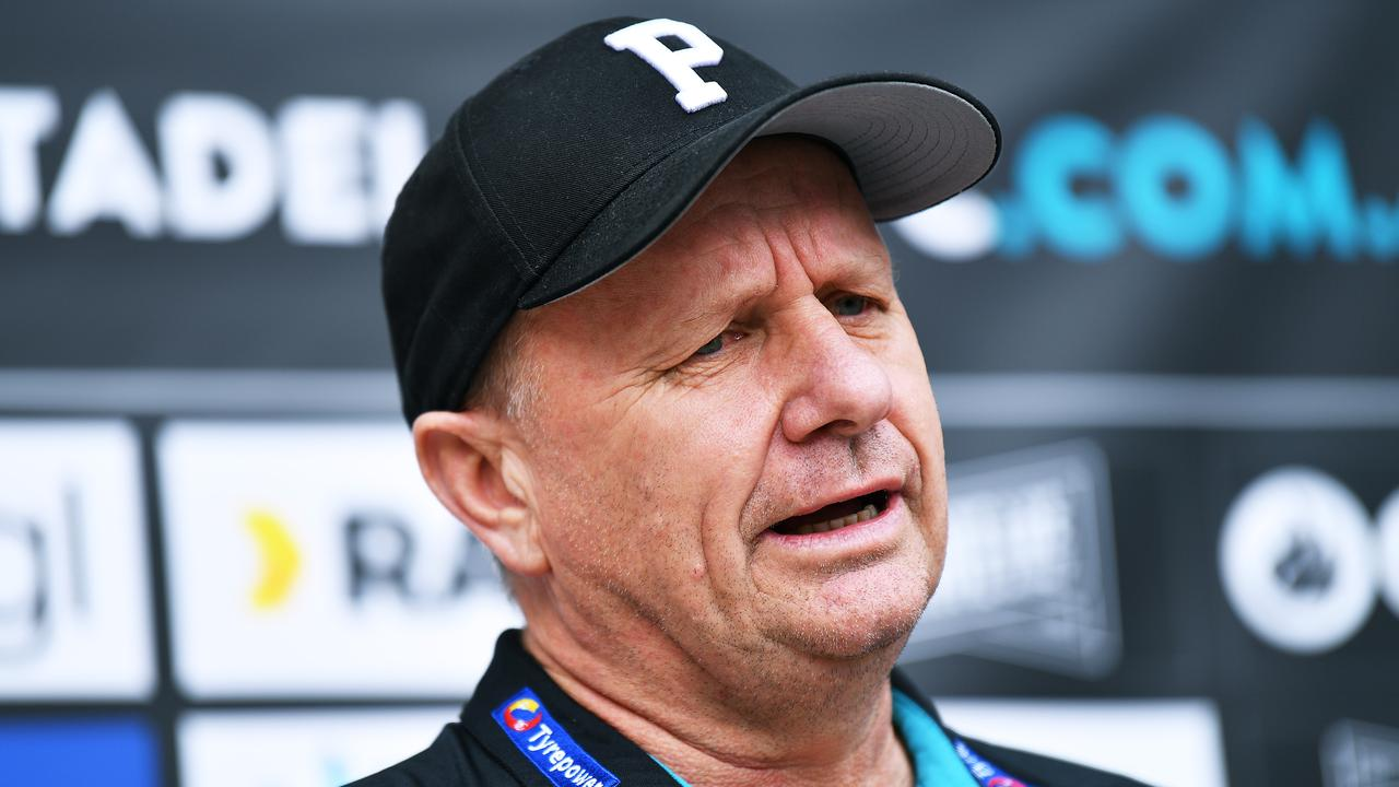 Ken Hinkley says the Power are ready for the Tigers on Friday night. Picture: Mark Brake/Getty Images