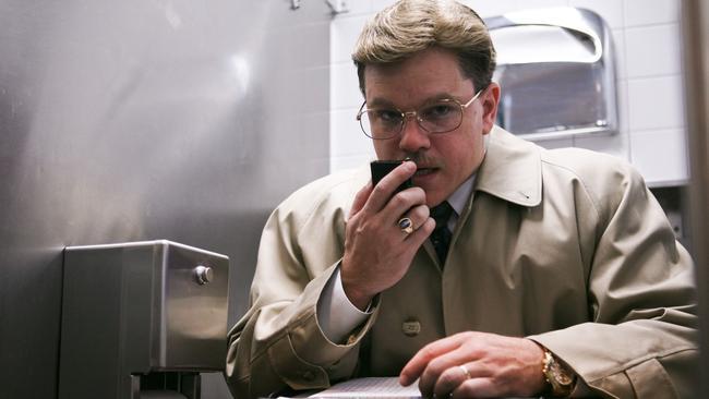 Matt Damon in The Informant.