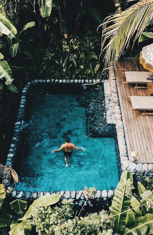 The hotel in Ubud has been voted the best in the world.