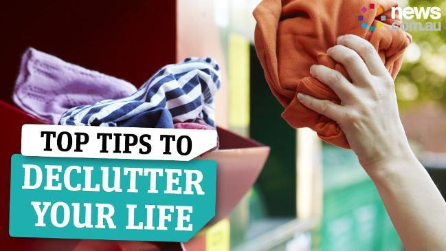 Top tips on decluttering your life