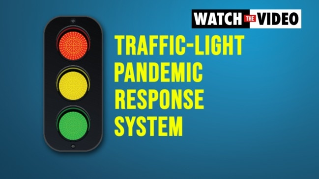 COVID-19: How a traffic light pandemic response system would work in Australia