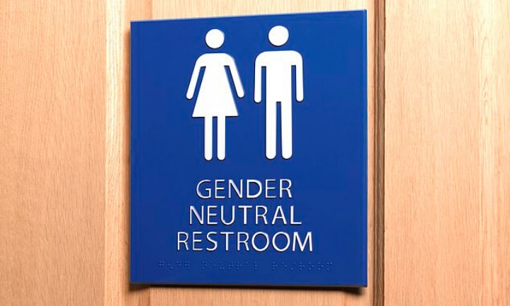 Parents fury as students share gender neutral toilets