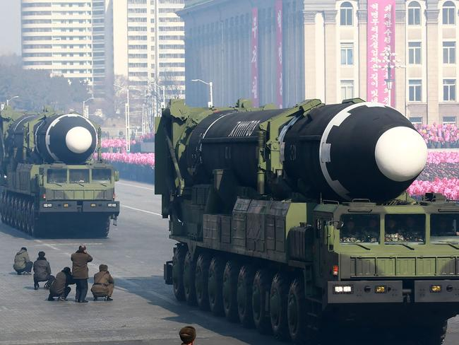 The administration's position is that North Korea must get rid of its nuclear and missile programs before any talks can take place. Picture: AFP/KCNA via KNS