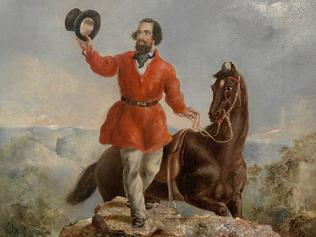 History. A portrait of Edward Hargraves painted by T.T. Balcombe June 1851. Must credit State Library of N