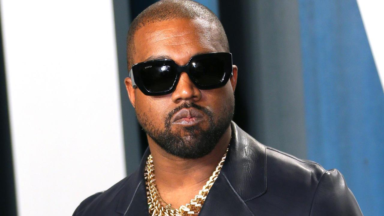 Kanye West has taken to Twitter with another worrying outburst. Picture: AFP.