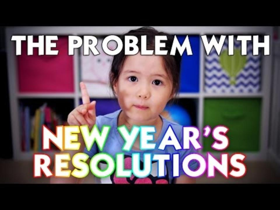 4 Year Old Shares Brilliant New Year's Resolution Message