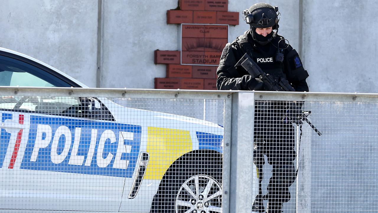 New Zealand is on high alert following the deadly terror attacks on Friday, with heightened security around the country. Picture: Dianne Manson