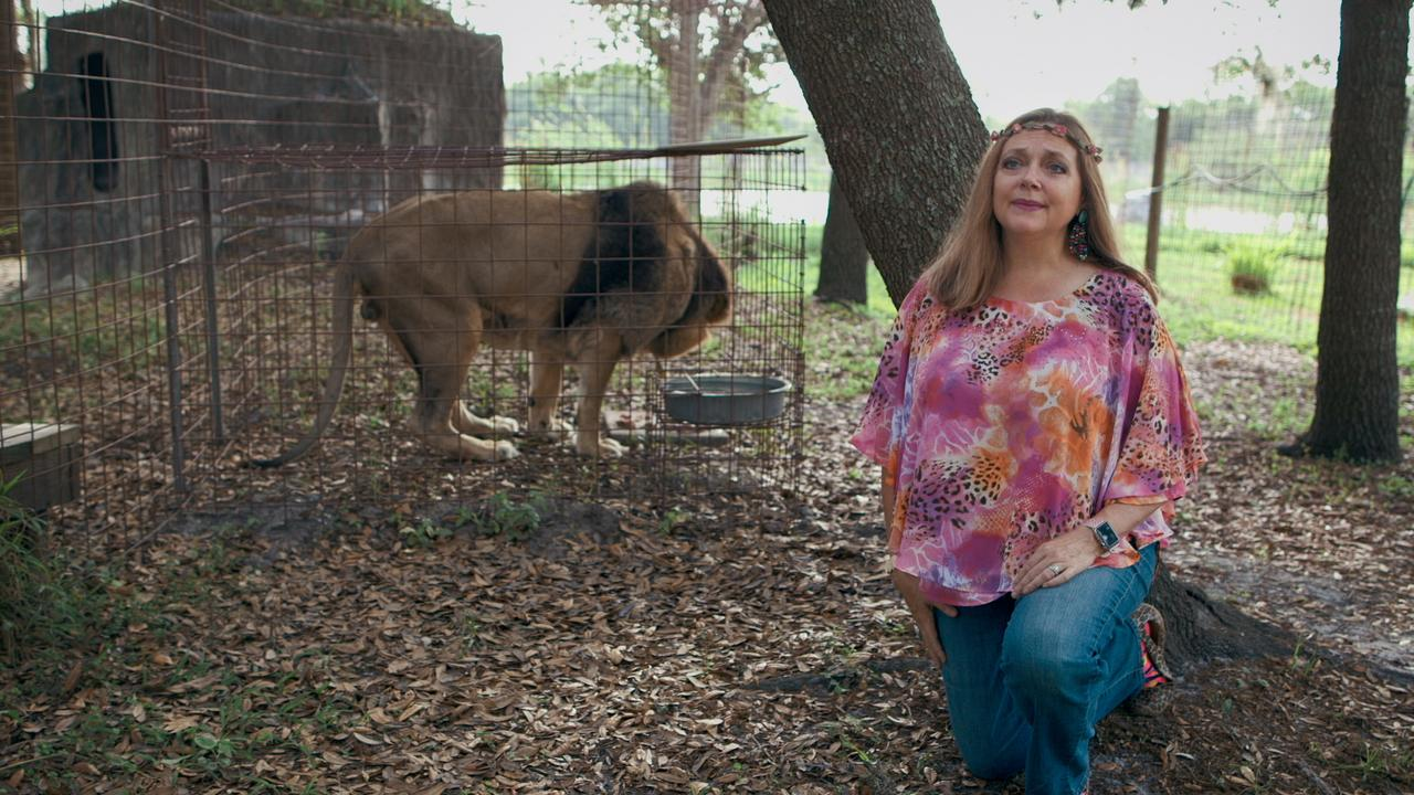 Tiger King's Carole Baskin was not a fan of the show. Picture: Netflix