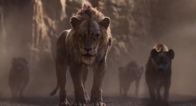 Latest trailer for The Lion King