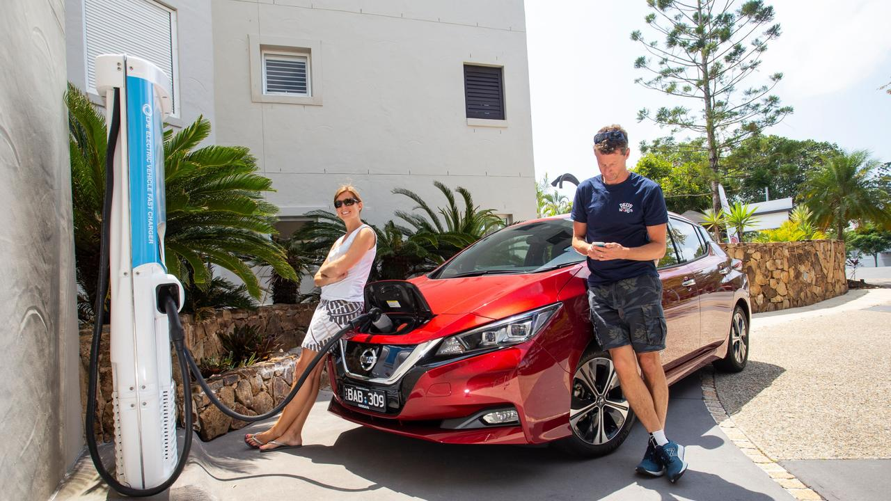 The SA Government plans to tax electric vehicles differently to normal cars.