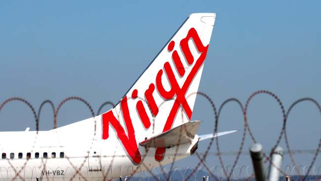 """Virgin Australia has dropped 50,000 regional NSW airfares for as little as $49 to celebrate the state's """"freedom day"""". Picture: David Clark"""
