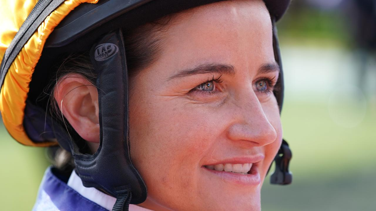 Michelle Payne says Jamie Kah has set an amazing example for the next generation of female riders. Picture: AAP