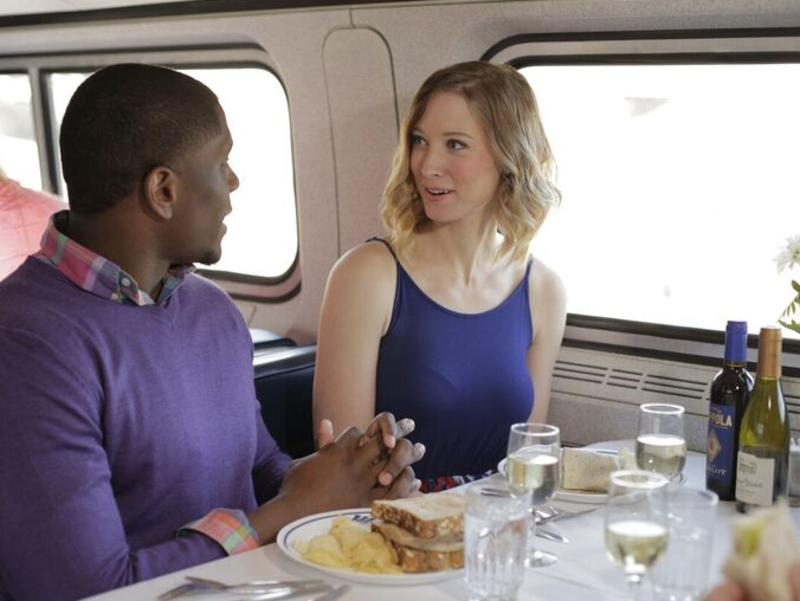 Passengers on the Cardinal train, which runs from New York to Chicago. Picture: Amtrak/Chuck Gomez