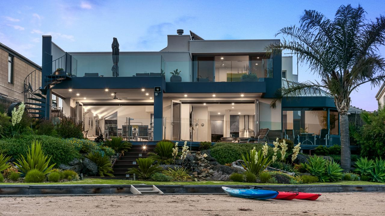 229 Gladesville Blvd, Patterson Lakes is a beachfront property for sale.