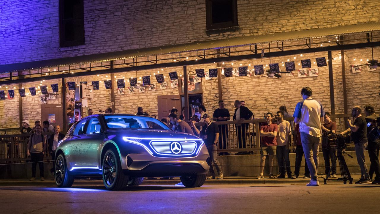 Mercedes is also pouring resources into electric cars.