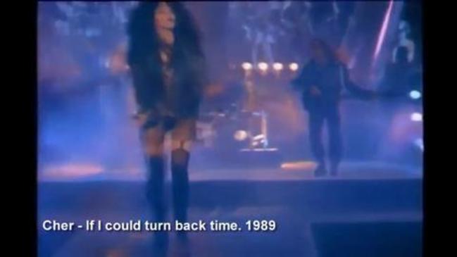 Cher Music Clip