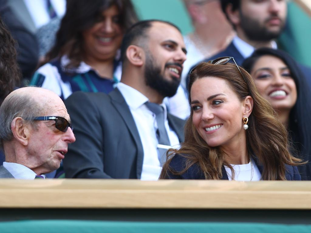 The Royal Box has some of the best seats in the house. (Photo by Julian Finney/Getty Images).