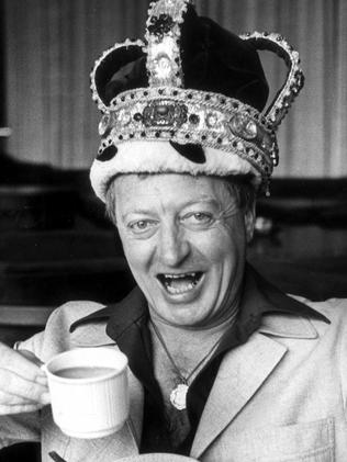 The 'King of Australian Television' was also crowned King of Moomba in 1979.