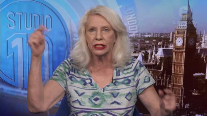 Sneak peak of Angie Bowie on Studio 10