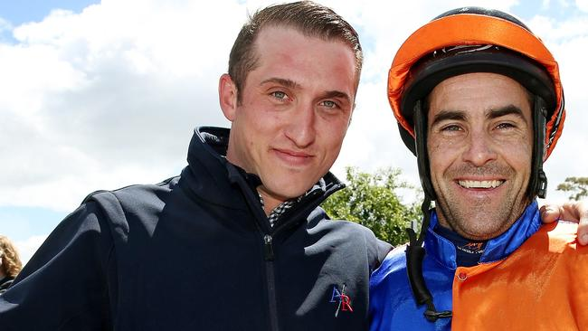 Trainer Nick Ryan is a star on the rise. Picture: Colleen Petch.