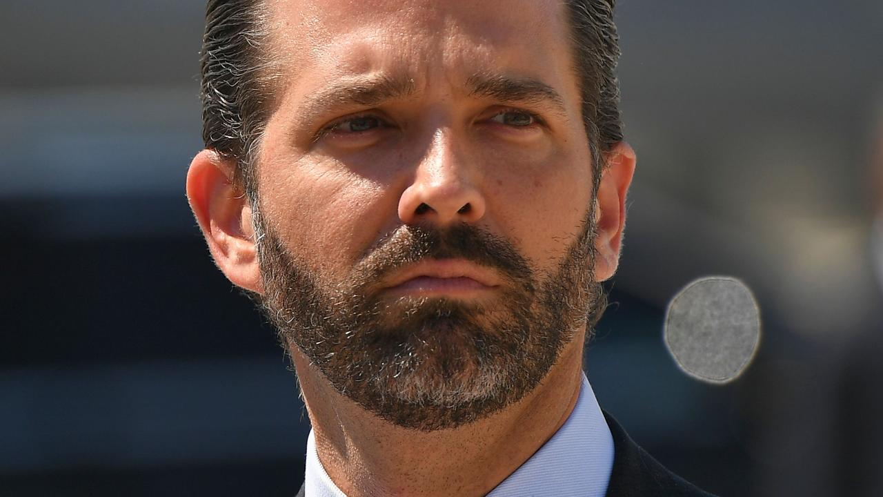 If Donald Trump doesn't run again, don't rule out his son Donald Jr. Picture: Mandel Ngan/AFP