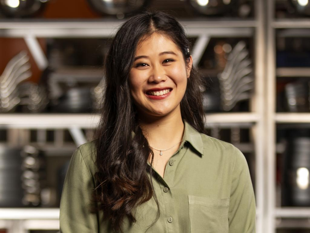Jess Liemantara was the latest contestant sent packing on MasterChef: All Stars. Picture: MasterChef/Channel 10
