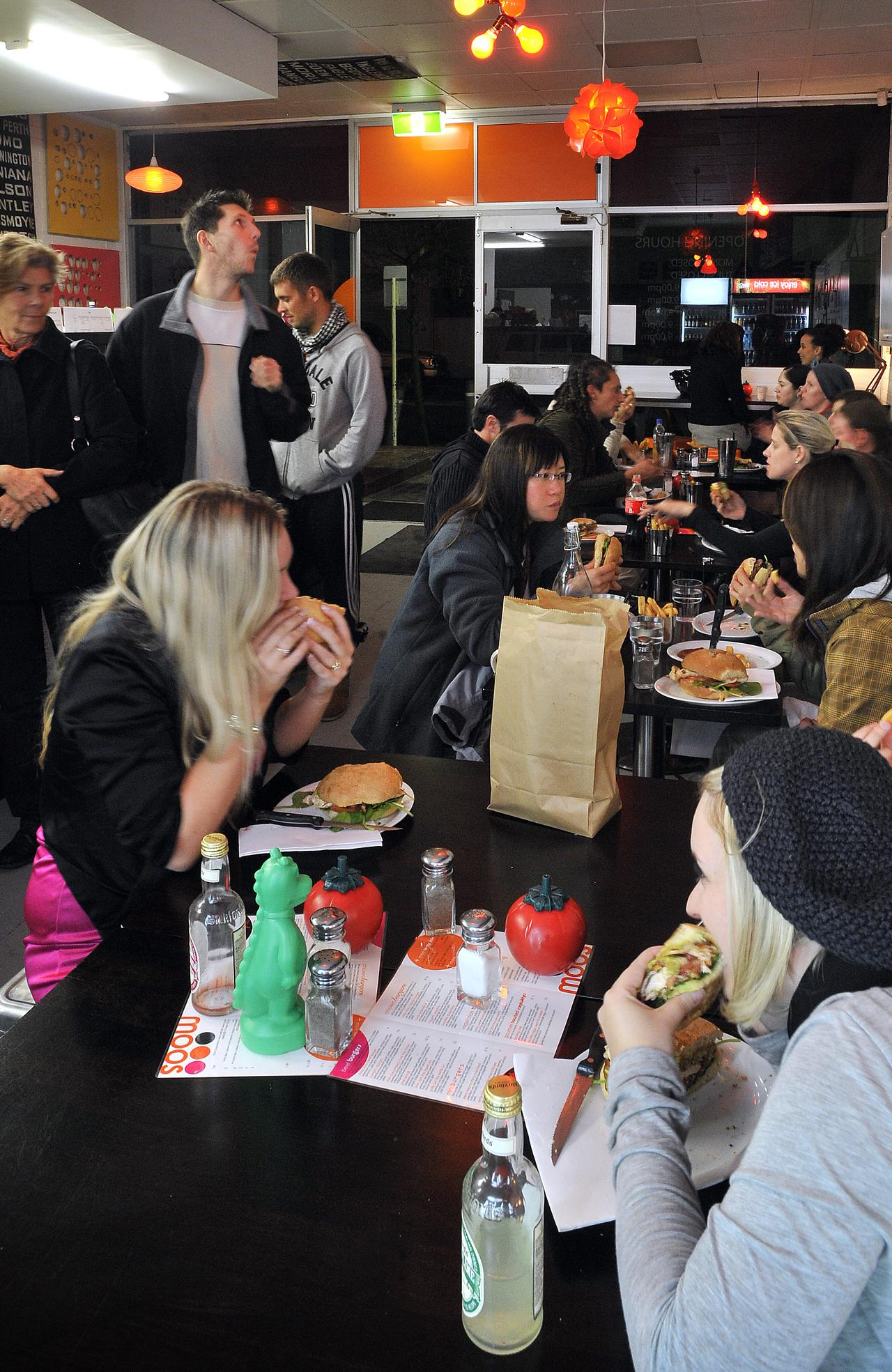 Missy Moos 400 Sth Terrace South Fremantle where one of the dishes available is the Steak Sandwich called Old King Cole