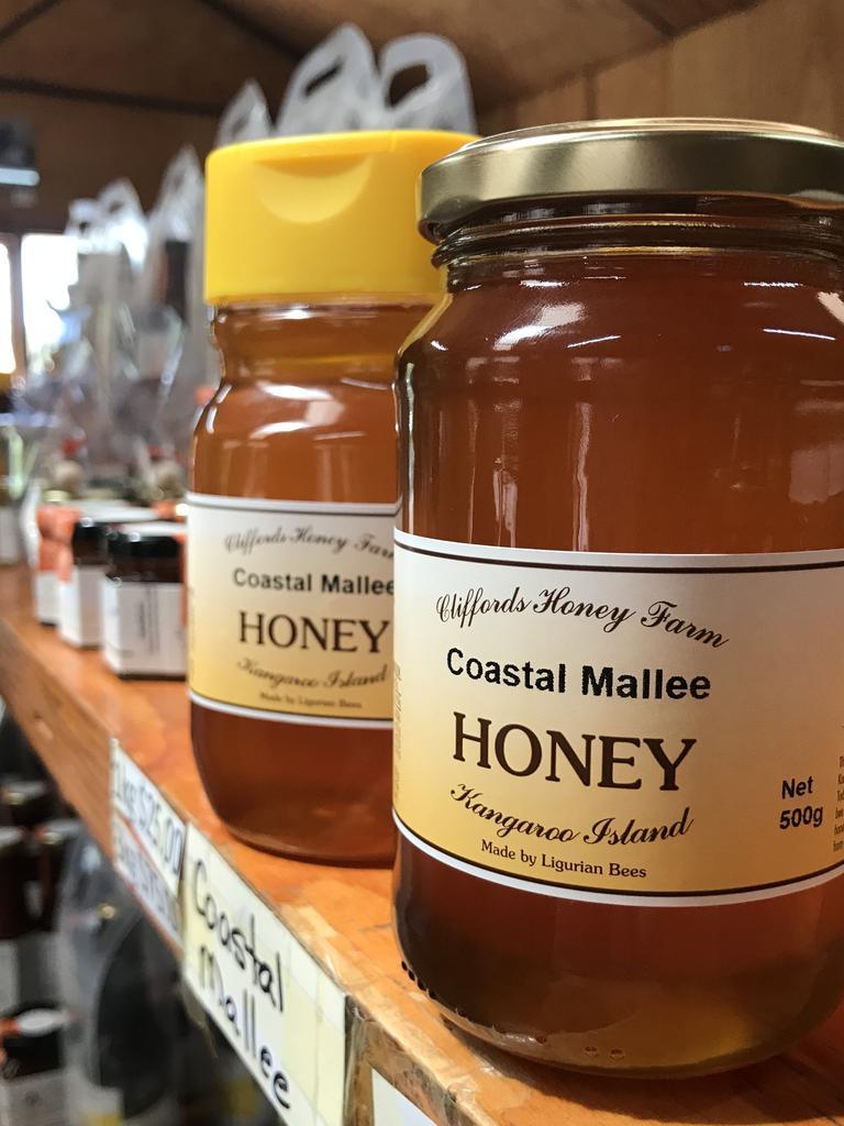 Cliffords Honey Farm honey Kangaroo Island. Photo: Carolyne Jasinski