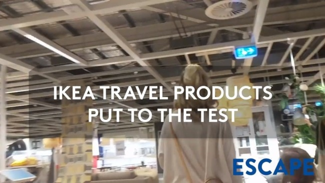 IKEA TRAVEL PRODUCTS PUT TO THE TEST