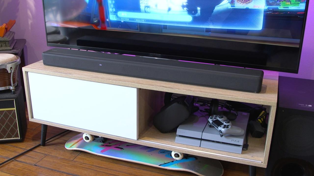 The Sony HT-G700 soundbar offers surround sound without the fussy set-up. Picture: Supplied.