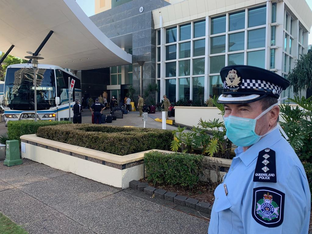 Returned travellers could soon be located in Queensland cities, other than Brisbane. Picture: Ryan Keen