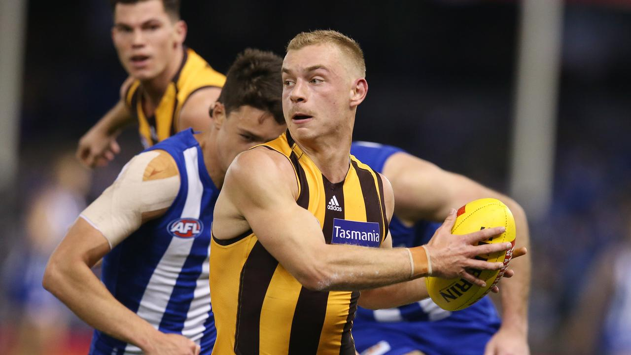 Hawthorn's James Worpel has gone to another level in the last few weeks — if he was eligible, would he be a Rising Star chance, as well as a captaincy option in SuperCoach?