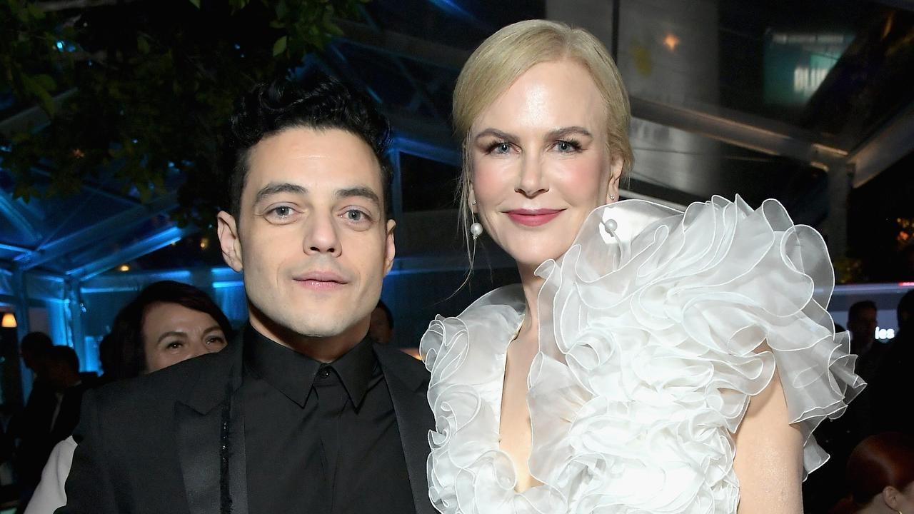 Malek and Kidman on January 4. See? Friends. Picture: Charley Gallay/Getty Images