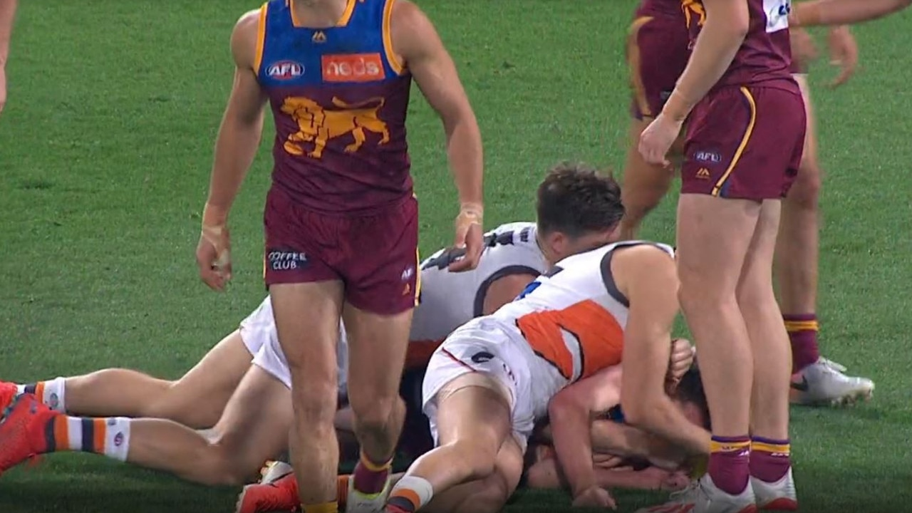 GWS Giants star Toby Greene offered one-match suspension for 'unnecessary' eye contact