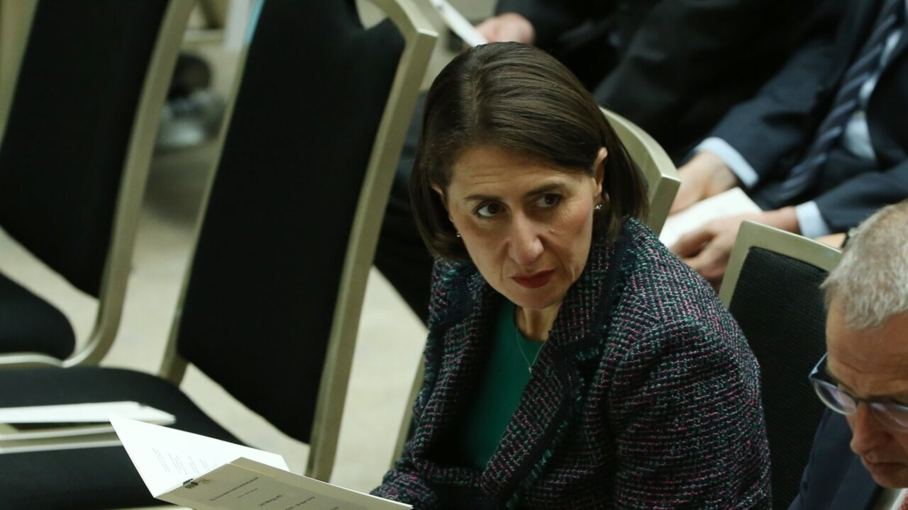 'Not my place to comment on matters' of Nationals: Berejiklian