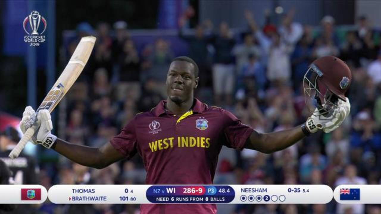 Carlos Brathwaite's incredible cameo