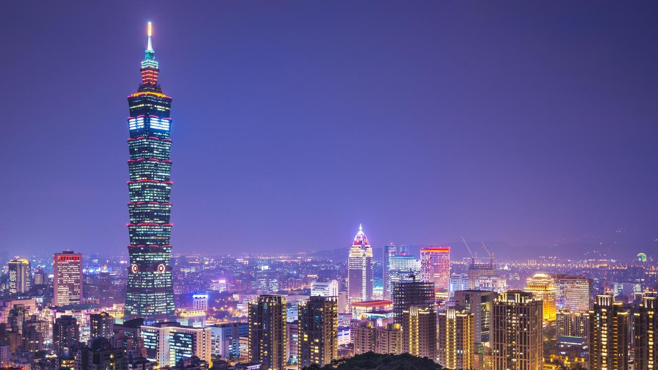 """The name """"Chinese Taipei"""" references Taiwan's capital city of Taipei. Picture: iStock."""