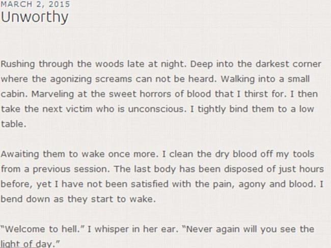 Ashlee Martinson's blog entry.