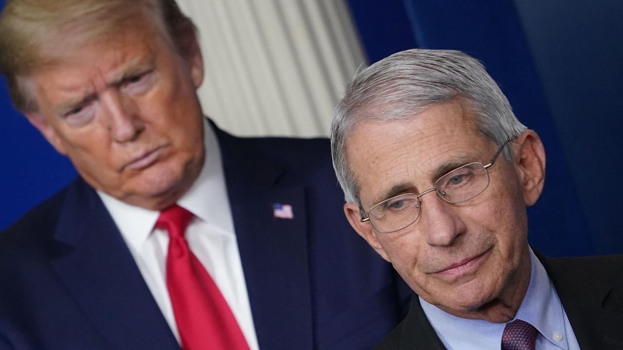 Anthony Fauci, the United States' top infectious disease specialist, likes to focus on science — but his honest takes on America's failures to get a grip on COVID-19 have brought him into ever greater conflict with President Donald Trump. Picture: Mandel Ngan/AFP.